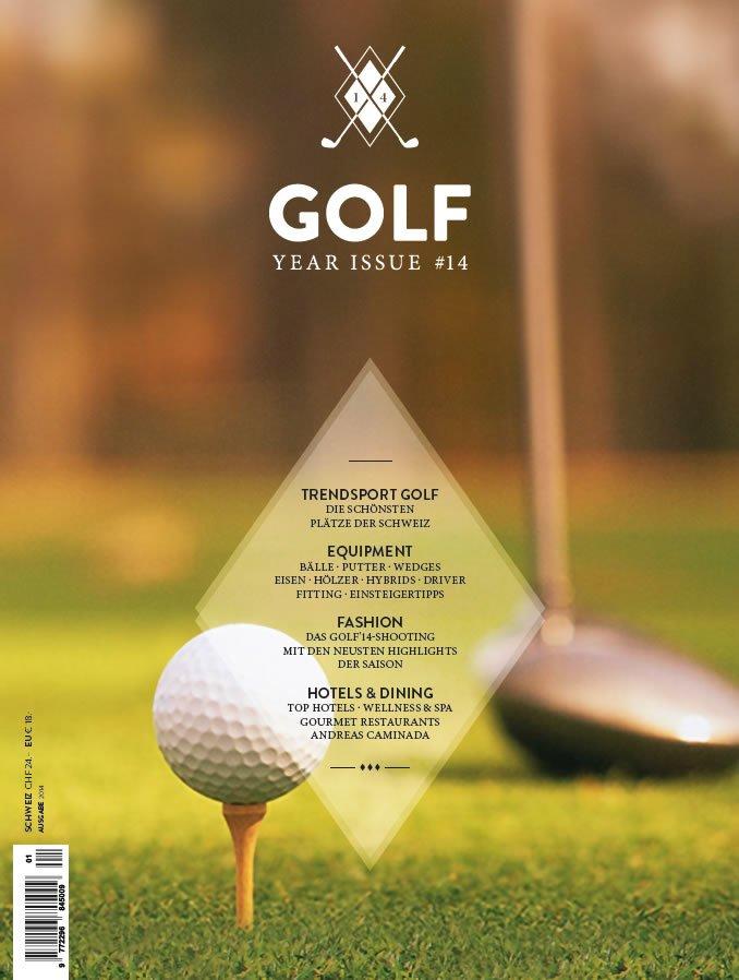 golf 14 magazine cover